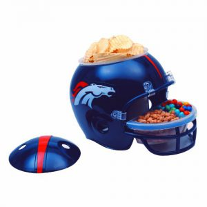 Denver Broncos Football Snack Helmet